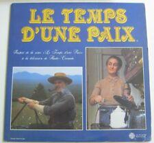 le TEMPS D'UNE PAIX LP Record Quebec Television 1980s