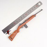 """1/6 M1 Carbine Gun Rifle Plastic Weapon Model Toy WWII US Army For 12"""" Figure KK"""