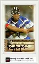 2003 Select NRL XL Future Force Signature Card FF33 Roy Asotasi (Bulldogs)