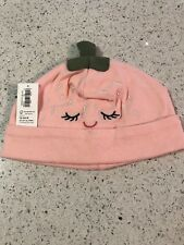 Nwt Old Navy Infant Girl Beanie Cap Sz 12-24 Mths See Pics
