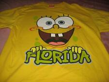 Sponge Bob Square Pants Florida  Adult X Large T-Shirt