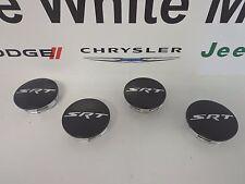 """Challenger Charger 300 New SRT Center Cap Satin Low Gloss Black 20 """" Mopar Each"""