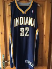 Maillot jersey basket NBA porté game worn Indiana Pacers Meigray COA