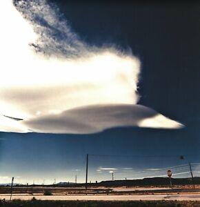 1999 Vintage BRUCE WEBER Road Trip Cloud Sky Montana Landscape Photo Art 12X16