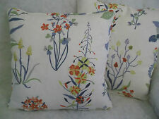 "WILLOWBROOK BY JANE CHURCHILL 1 PAIR OF 16"" CUSHION COVERS - DOUBLE SIDED"