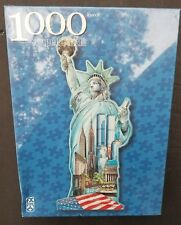 STATUE OF LIBERTY 1000 PIECE SHAPED PUZZLE FX SCHMID Gerold Como Artist