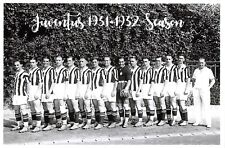 Football Soccer Italian Italy Postcard, Juventus Team Photo 1931-1932 Season 20F