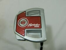 "New RH Taylormade Spider Mini Tour Diamond Silver 35 inch Putter 35"" Superstroke"