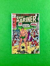 Sub-Mariner #33 (1971): Namor proposes Lady Dorma! Namora (Flashback)! FN+ (6.5)