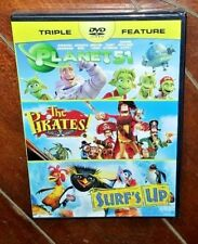 The Pirates Band of Misfits/Planet 51/Surfs Up (DVD, 2014)