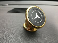 MERCEDES Universal 360 Gold Magnetic Mobile Phone In Car Dash GPS Holder Mount