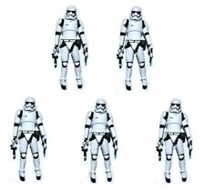 "Lot of 5 Star Wars The Force Awakens Stromtrooper 3.75"" Loose Action Figure"