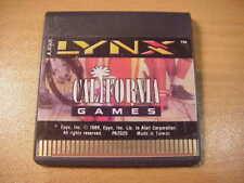 Atari LYNX - CALIFORNIA GAMES - Video Game