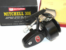 French Garcia Mitchell 306 vintage spinning reel with box, salmon carp pike f...