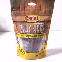 Cadet Bully Sticks Dog Treats 5.2 Oz Value Pack. ! Free Shipping !   2C151