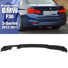 M-Performance Style Rear Bumper Diffuser Molding for BMW 2012-2017 3 Series F30