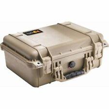 Peli CASE 1450 sans mousse Desert Tan Photo Caméra Valise de protection valise ip67