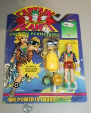SEALED 1991 Captain Planet Linka w/ Ring NOS MISP MOC Cartoon VTG RARE HTF NICE
