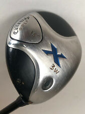 "Callaway X 15° 3W Fairway Wood Fujikura 65g Stiff Flex Shaft RH 43""- NICE"
