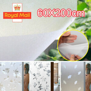 Frosted Door Window Film Privacy Glass Sticky Back Plastic Vinyl Static Cover