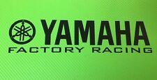 Bicicleta de pista de carreras de fábrica de YAMAHA o carretera Carenado Calcomanías Pegatinas Par #166