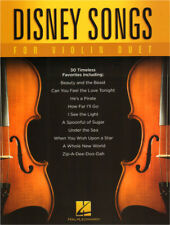 Disney Songs for Violin Duet 30 Songs für 2 Violinen Geigen Noten