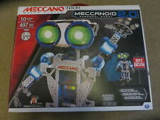 EXCELLENT [Sealed Bags] Meccano Tech Maker System Meccanoid Personal Robot 2.0