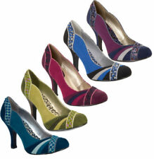 Ruby Shoo Faux Suede Court Shoes for Women