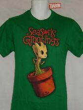 I Am Groot Guardians Of The Galaxy Navidad Figura Árbol de Nuevo Camiseta Hombre