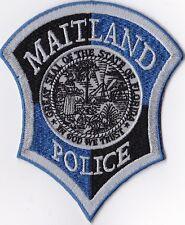 Maitland Police blue Police patch Florida FL