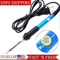 Electric Soldering Iron Gun Adjustable Temperature Welding Tool 110V 60W US