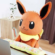 Pokemon PC Keyboard Cushion Eevee Big Plush Hug Stuffed Doll Japan BANDAI Anime