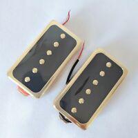 Les Paul P90 Electric Guitar Pickups Humbucker Set Neck Bridge Soapbar Pickups