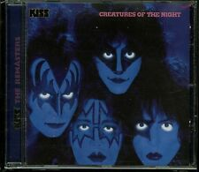 Kiss Creatures of The Night Remaster German logo CD new Mercury 532 391-2(18)