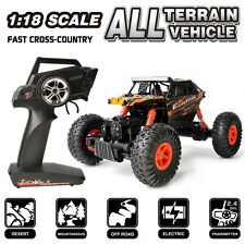 WLtoys 1:18 Scale 2.4G High Speed Electric All Terrain Off-Road Rock RC Cars RTR