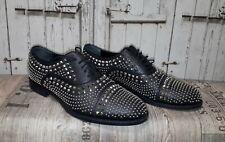 Original Gucci Schuhe Echtleder mit Nieten Gr.:10 entspricht Gr.44 Made in Italy