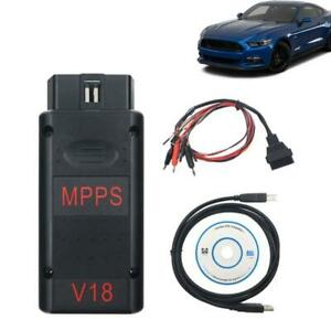 MPPS V18 ECU Chip Tuning Cable Support Reading/Writing Operations