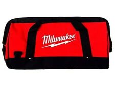 """Large Milwaukee Contractor Duffel Tool Bag 22""""L X 10.5""""W X 12""""H w Shoulder Strap"""