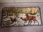 Vintage Deer Buck Tapestry 36 1/2 X 18 3/4 Must See!
