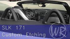 WindRestrictor® brand wind blocker deflector for Mercedes convertible 2005-2011