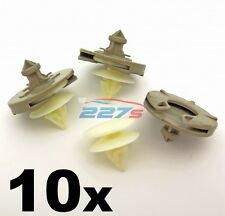 10x Plastic Door Card Clips for VW Golf Mk3 & Vento- Trim Clips for Door Panel