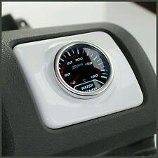 VOLKSWAGEN GOLF mk5 V AIR VENT Pod GAUGE HOLDER GTI TDI GTTDi VW-Bianco lucido