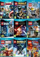Wii U Lego Wii U Games Assorted Pick One or Bundle up Mint - Super Fast Delivery