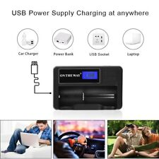 Universal Intelligent Charger,Portable Travelling LCD Smart Display Battery Char
