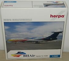 Tupolev Tu-154M BHAir 514989 1/500 Herpa