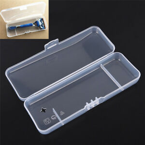 Portable Razor Travel Case Shaving Razor Box Storage Box For Travel JeAPUK