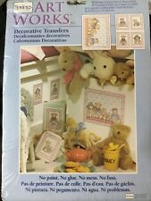 Springs Art Works Decorative Transfers Honey Bears Furniture Wall Craft New