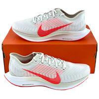 Nike Zoom Pegasus Turbo 2 Platinum Men's Running Shoes Red White AT2863 008
