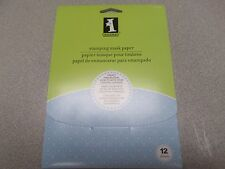 INKADINKADO STAMPING MASK PAPER 12 SHEETS NEW IN PACKAGING-cheapest on ebay