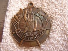 Palm Springs Medal 1988 Josten's Key Chain FOB